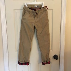 Old Navy boys lined pants size 12